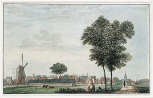 Het buurtschap Oosterbuurt (Oostenbuurt) bij Castricum