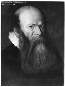 Portret van Franciscus Raphelengius (1539-1597)