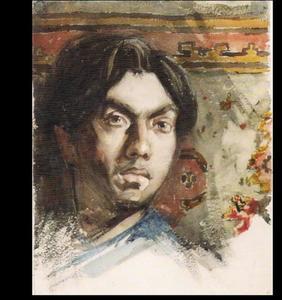 Zelfportret van Jan Toorop (1858-1928)
