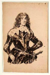 Portret van prins Karl Ludwig, keurvorst van de Pfaltz (1617-1680)