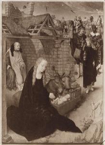 De geboorte van Christus en de aankomst van de drie Wijzen