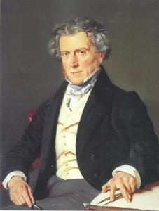 Portret van de architect Charles Robert Cocquerell/Cockerell (1788-1863)