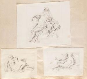 Piëta (niet naar Van Bossuit), Leda en de zwaan en Venus en Amor