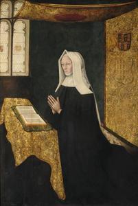 Portret van Margaret Beaufort (1441/3-1509), moeder van koning Henry VII