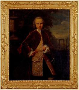 Portret van een man, mogelijk Jan van de Poll (1726-1781)