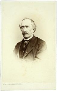 Portret van Guillaume Louis Jacques van der Hucht (1812-1874)