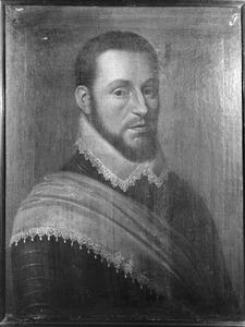Portret van Willem van Dorp, kolonel in het Noord-Hollands regiment