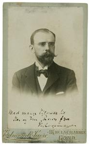 Portret van Henri Logeman (1862-1936)