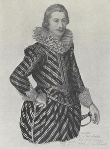 Portret van Adolf, hertog van Sleeswijk-Holstein (1600-1631)