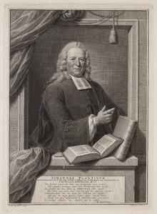 Portret van Johannes Plantinus (1692-1771)