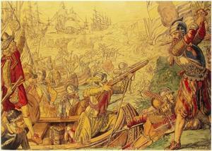 De slag bij Øland op 31 mei 1612