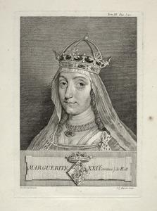 Portret van Magaretha van Henegouwen (1310-1356)