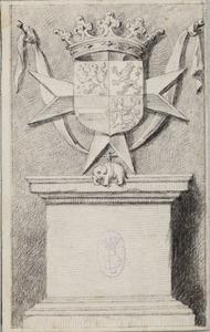 Wapenschild van Johan Maurits prins van Nassau-Siegen