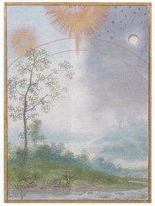 De schepping van de zon, de maan en de sterren (Genesis 1:16-18)
