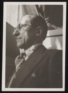 Portret van Piet Mondriaan