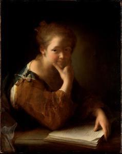 Meisje met een boek