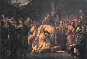 De genezing van de lamme te Kapernaüm