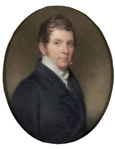 Portret van Willem van Loon (1786-1876)
