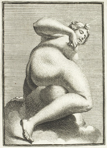 Asteria, in verkort perspectief (pl. XXXV)