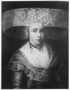 Portret van Remelia Terpstra ( -1814)