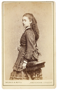 Portret van Catharina Engeltje Westendorp (1858-...)