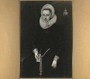Portret van Henrica Heymans genaamd Kolft (1591-1653)