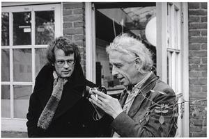 Portret van Aldo van Eyk en Roni van Veen