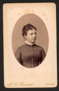 Portret van Caroline Louise Dorothee Charlotte Gallee (1849-1893)
