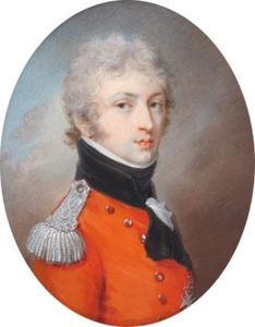 Portretminiatuur van Henryk Lubomirski (1777-1850)