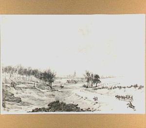 Arnhem, gezien vanaf Klarenbeek