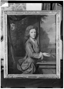 Portret van waarschijnlijk Paulus Engelbrecht Voet van Winssen ( -1724)