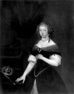 Portret van Hedvig Eleonora van Holstein-Gottorp (1636-1715), koningin van Zweden