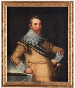 Portret van Gustaaf II Adolf, koning van Zweden