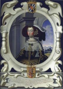 Portret van Luisa Moncada (?-1708)
