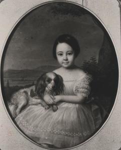 Portret van Constantia Wilhelma Fabricius (1849-1928)