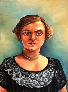Portret van Catharina Maria Heijen (1895-?)