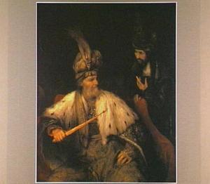 Haman wint  Ahasveros  vertrouwen en verkrijgt zijn zegelring (Ester 3:8-10 )