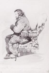Portret van Lambertus Lingeman (1829-1894)