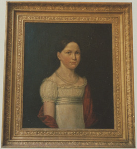 Portret van Ann Martha May (1811-1893)