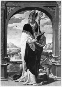 De H. Eucherius (op de binnenzijde: de hemelvaart)