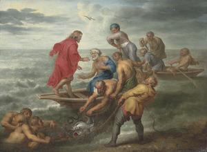 De wonderbaarlijke visvangst (Lukas 5:4-7)