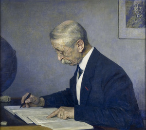 Portret van Jacobus Cornelis Kapteyn (1851-1922)