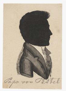 Portret van Friedrich Franz Ludwig von Pestel (1764-1837)
