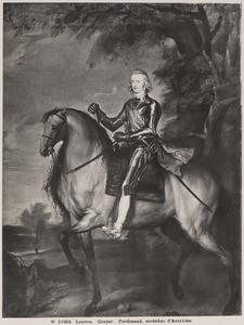 Portret van Ferdinand van Habsburg (1609-1641)