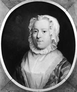 Portret van Maria Catharina van der Burch (1707-1761)