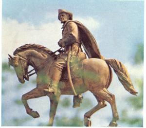 Monument voor Sam Houston