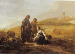 Ruth vertelt haar verhaal aan Boaz (Ruth 2:5-13)