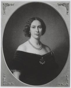 Portret van Louise prinses van Oranje- Nassau (1828-1871), koningin van Zweden