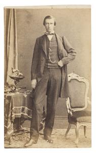 Portret van Hendrik Joan van de Poll (1826-1877)