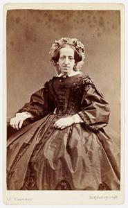 Portret van Jacoba Catharina Maria van de Kasteele (1812-1890)
